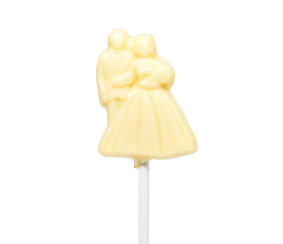 Newly Wed White Chocolate Lollipop