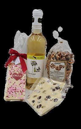 White Wine Valentine Gift