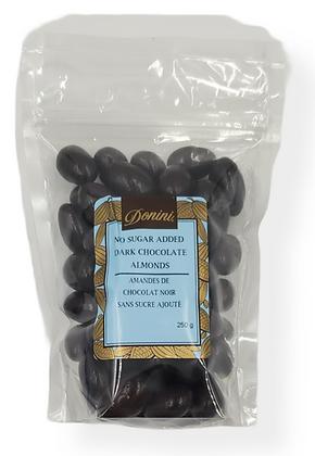No Sugar Added Dark Chocolate Almonds