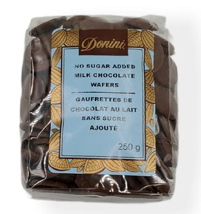 No Sugar Added Milk Chocolate Wafers