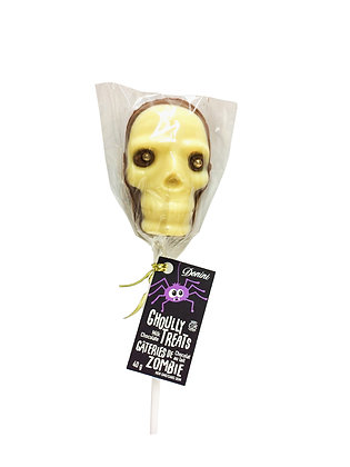 Milk Chocolate Skull Lolly, 40g