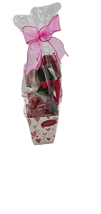 Small Milk Chocolate Valentine Basket