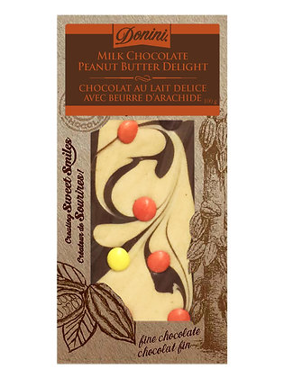 Milk Chocolate Peanut Butter Delight, 100g