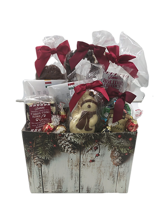 Large Box Holiday Basket B