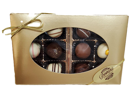 Assorted Classic Truffle Box - 12 piece