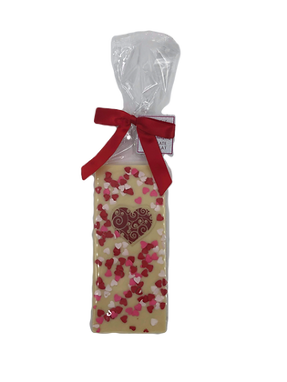 White Chocolate Valentine Bar 2