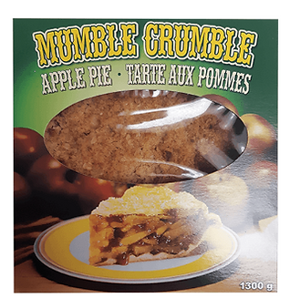 9 Inch The Big Apple Mumble Crumble Apple Pie