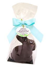 Donini Hollow Dark Chocolate Sitting Bunny, 75g