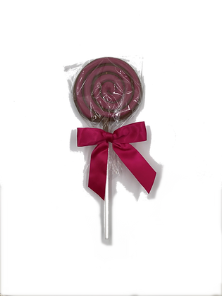 Milk Chocolate Swirl Lollipop