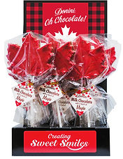 Donini Maple Leaf Lolly with a hint of Maple,50g