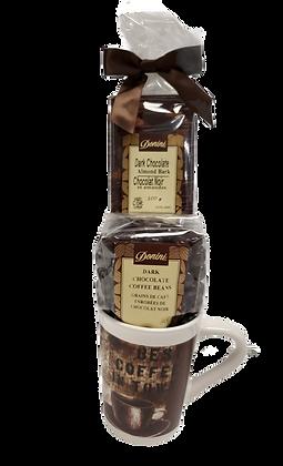 Coffee and Chocolate Lover's Mug Gift