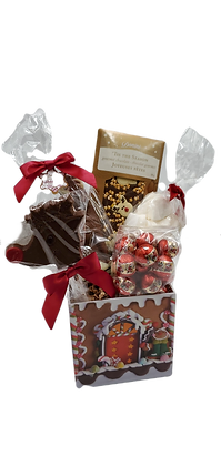 Medium Gingerbread House basket