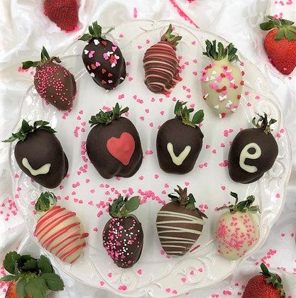 True Love Chocolate Covered Strawberries