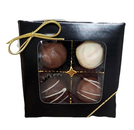Assorted Classic Truffle Box - 4 piece