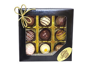 9pc Assorted Classic Handmade Truffles, 135g