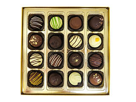 16pc Assorted Classic Handmade Truffles,
