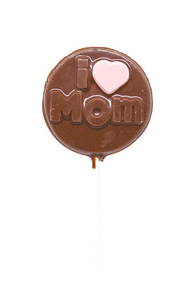 Milk Chocolate I Love Mom Lollipop, 35 g