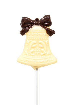 Chocolate Wedding Bell Lollipop