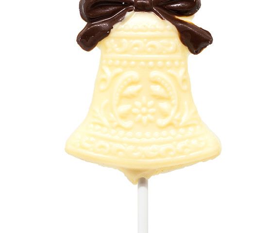 White Chocolate Wedding Bell Lolly