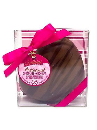 Artisanal Milk Chocolate Hollow Heart, 75 g