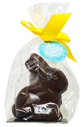 Dark Chocolate Sitting Bunny, 75g