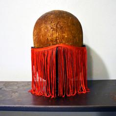 Red Fringe Mask