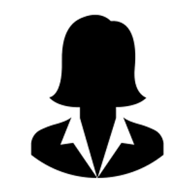 Female executive head shot icon.png