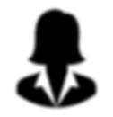 Female executive head shot icon.png