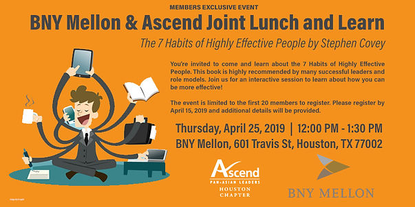 fBNY Mellon & Ascend Joint Lunch and Lea