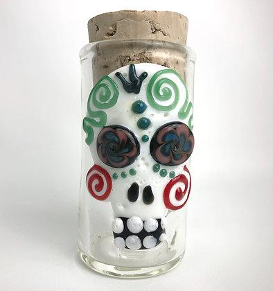 Sugar Skull Jar Large