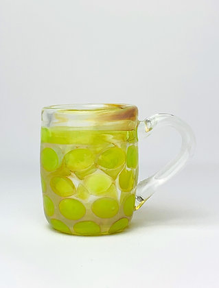 Green Dot Espresso Glass