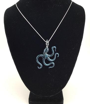 Unobtainium Octopus Pendant