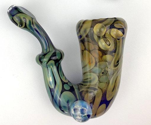 Cobalt Fume Saxophone