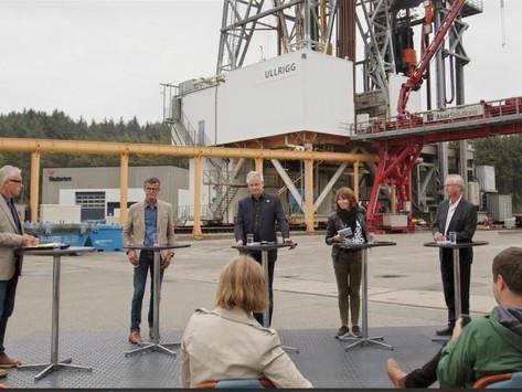 Debatt om oljeindustriens rolle i det grønne skiftet