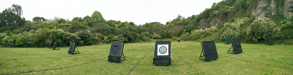 Newcastle archery field