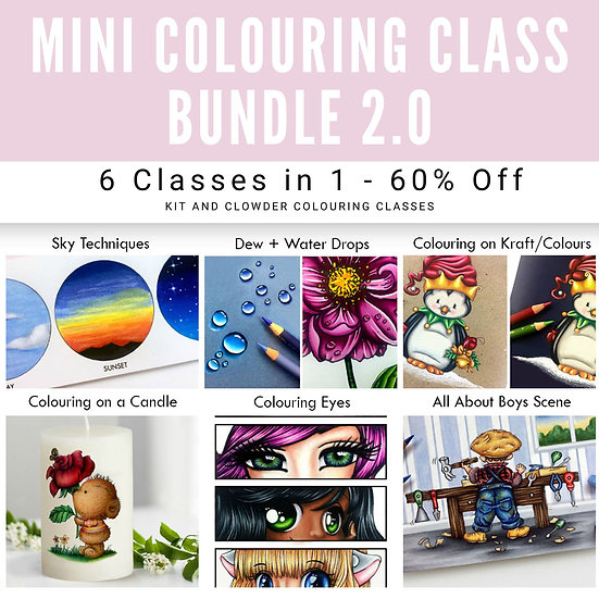 2.0 Mini Class Bundle - 6 Classes in 1