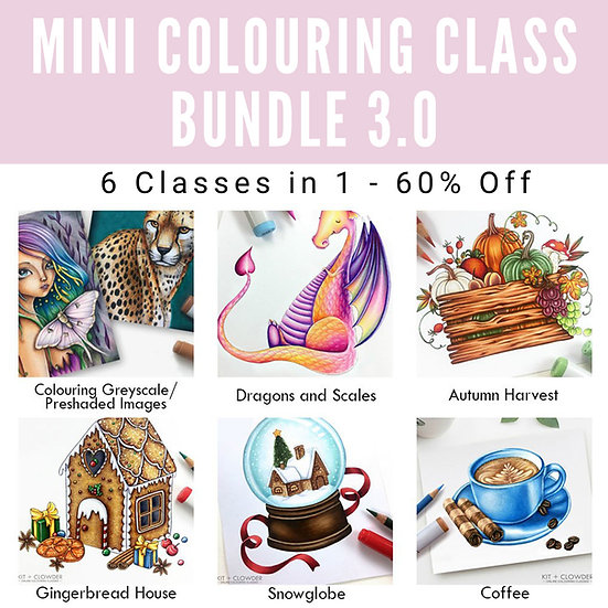 3.0 Mini Class Bundle - 6 Classes in 1