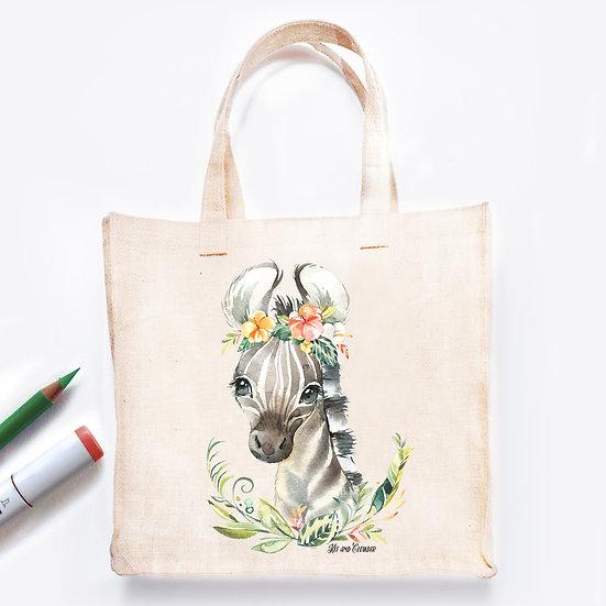Pre-Coloured Bag Zebra