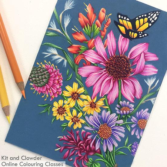 Beautiful Bouquets - Pencils
