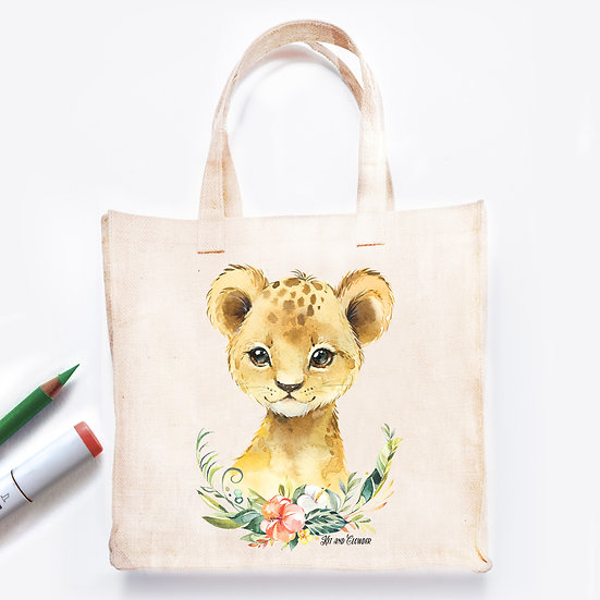Pre-Coloured Bag Lion