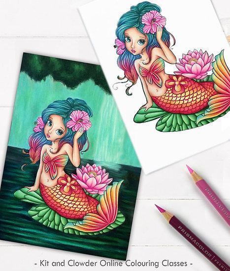 Project Class - Mermaid Pencils