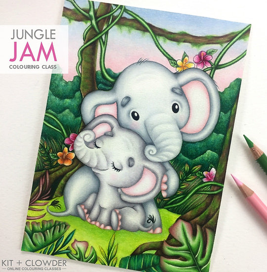 Jungle Jam Project - Pencils