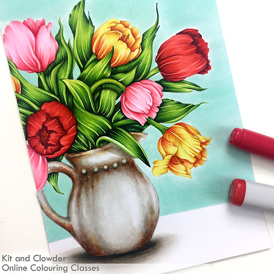 Beautiful Bouquets - Markers