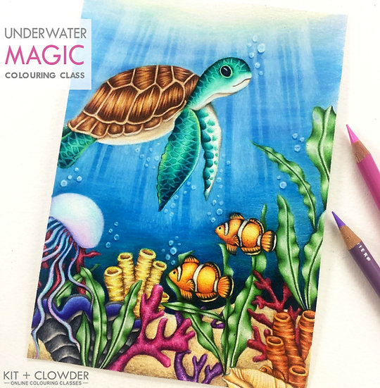 Underwater Magic Project - Pencils