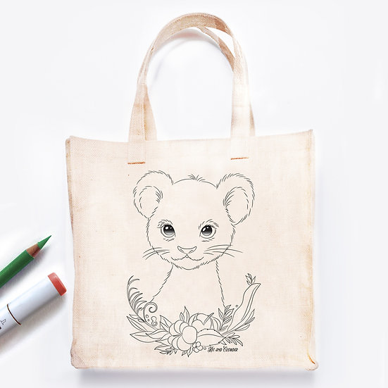 Colour In Bag Lion