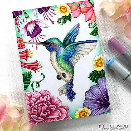 Birds in Bloom - Markers