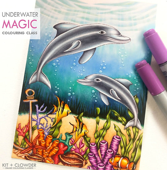 Underwater Magic Project - Markers