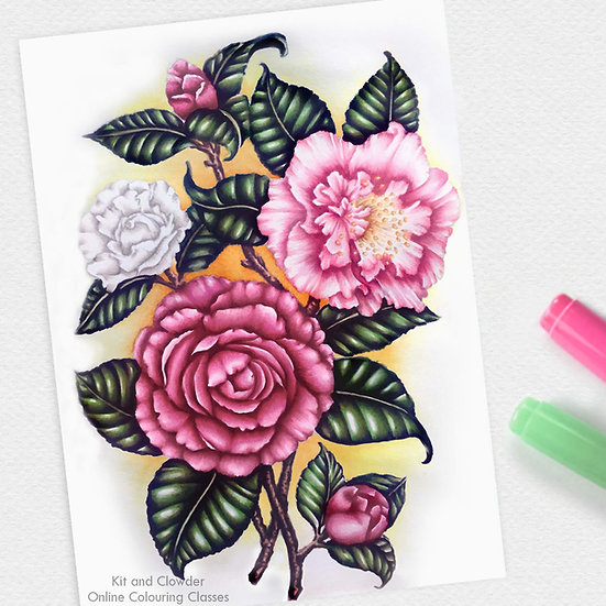 Project Class - Fabulous Florals Markers