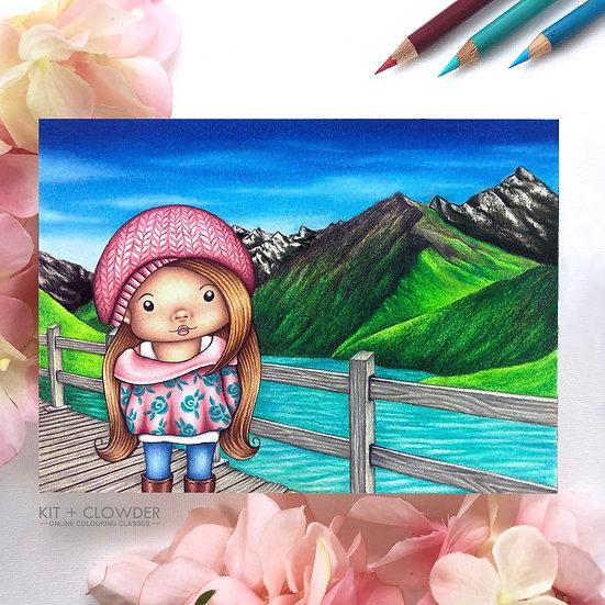 Beautiful Backgrounds Class - Pencils
