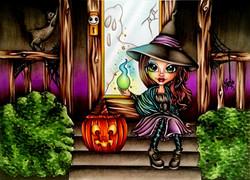 Gabbie Halloween Witchfire
